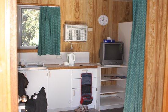 Cradle Mountain Wilderness Village: dentro do cabin