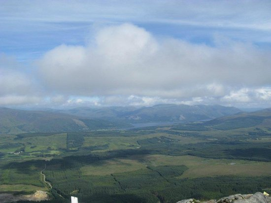 Nevis Range Mountain Experience: The view from Aonoch Mor