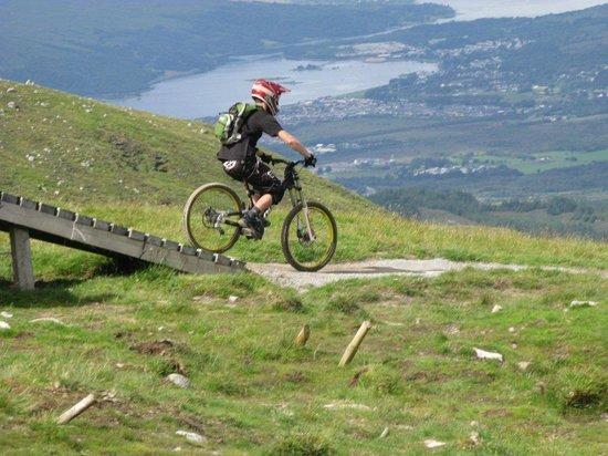 Nevis Range Mountain Experience: The world-class mountain biking track