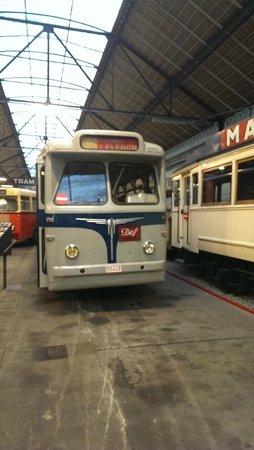 Musee des Transports en Commun du Pays de Liege : trolleybus