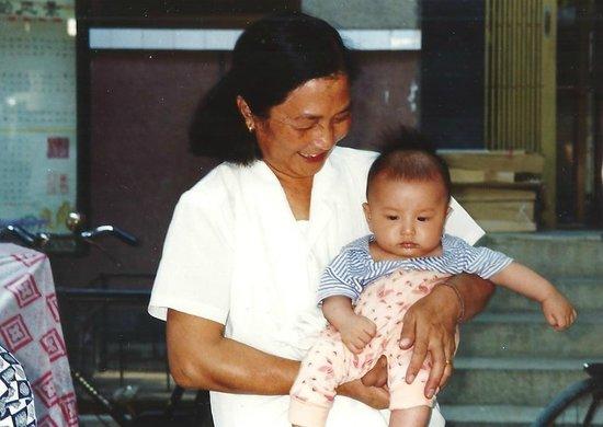 Gudu Wenhua Hotel: Mamma con figlio