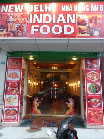 Newdelhi Indian Food Haiphong: Front of Restaurant
