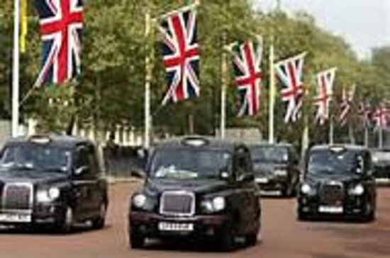 London Taxi in Action