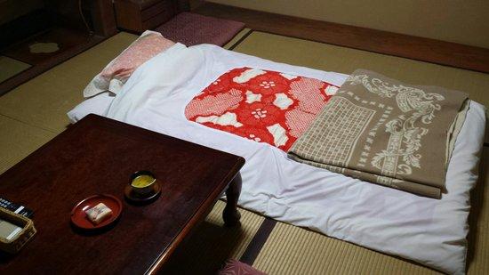 Ryokan Nakajimaya: Nice, spatious rooms!