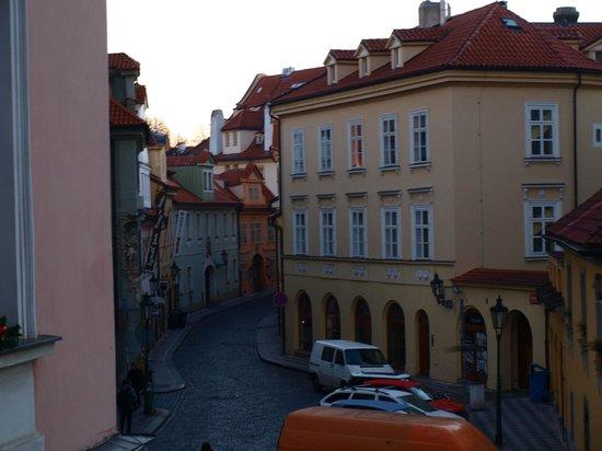 Hotel Pod Vezi: Quartier vu de la chambre