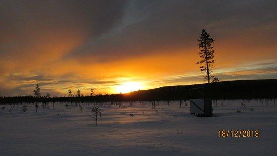 Burning Snow: Wunderschöne Sonne