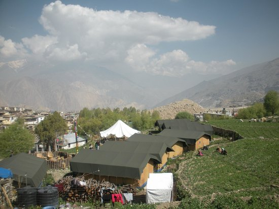 Knaygoh Kinner Camps: View from top