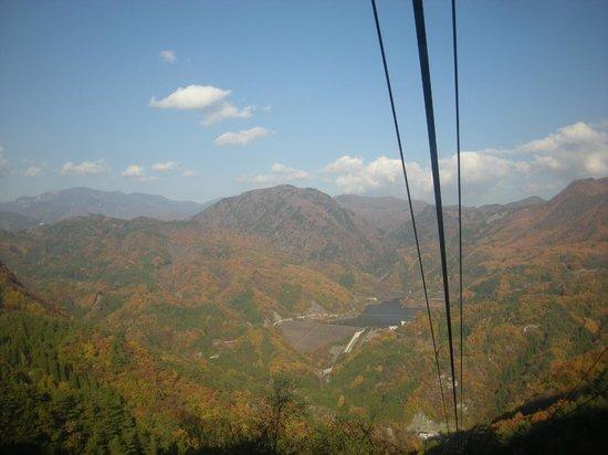 Shosen Gorge Ropeway : 景色