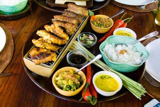 Bumbu Bali: BBQ meats