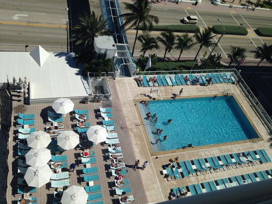 The Westin Beach Resort, Fort Lauderdale : View to the pool