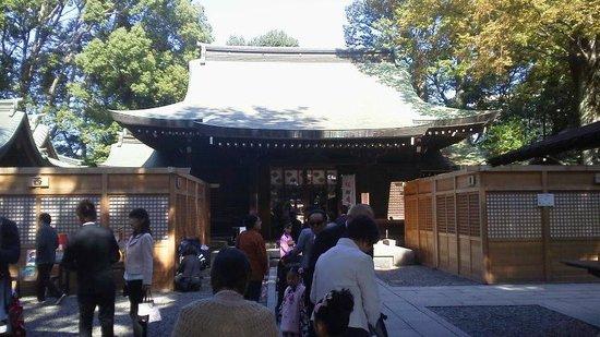 Kawagoe Hikawa Shrine: 神社