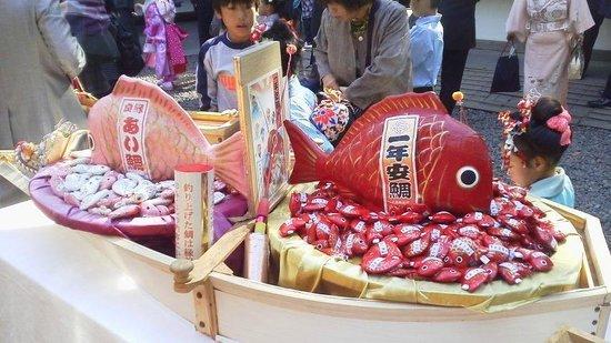 Kawagoe Hikawa Shrine: おみくじ