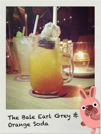 Tapa Nusa Dua: The Bale Earl Grey and Orange Soad