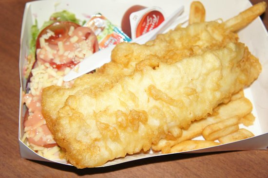 Oppie's Fish & Chips : yummy