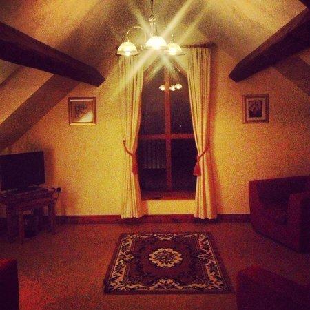 Graig Farm Cottages: Holly Cottage living room
