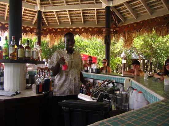 Sandals Royal Caribbean Resort and Private Island: Island Bar