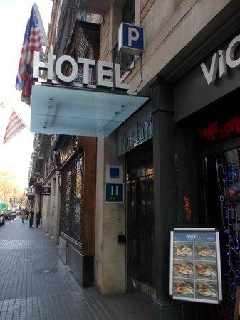 Flor Parks Hotel : entrata
