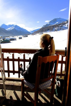 Chalet Mistral: Balcony view