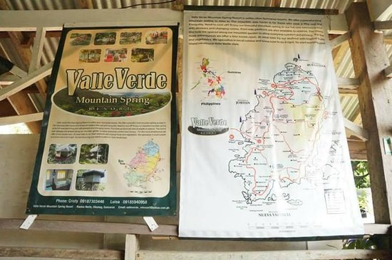 Valle Verde Mountain Resort: map