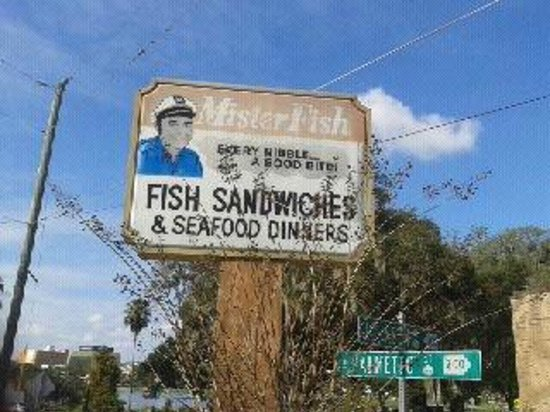fish sandwich picture of mister fish lakeland tripadvisor
