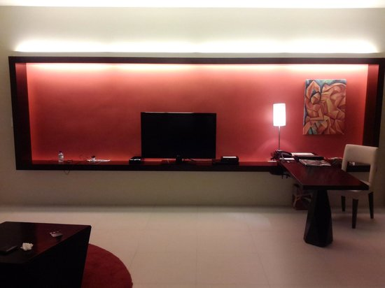 The Picasso Boutique Serviced Residences: Nice living area