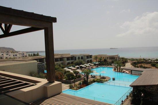 AquaGrand Exclusive Deluxe Resort: Ausblick von der Lobby