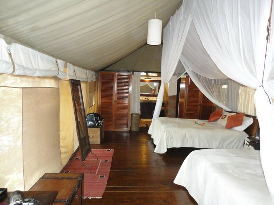 Sanctuary Olonana: Our tent