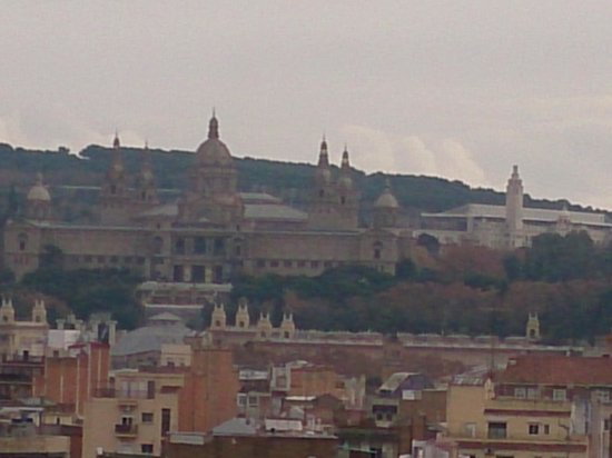 Expo Hotel Barcelona: vista de Montjuic desde la habitación