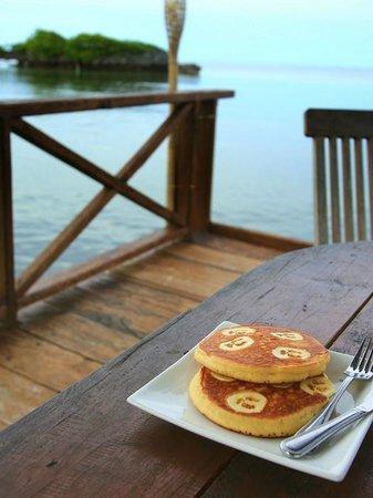 Patuno Resort Wakatobi: pancake patuno style