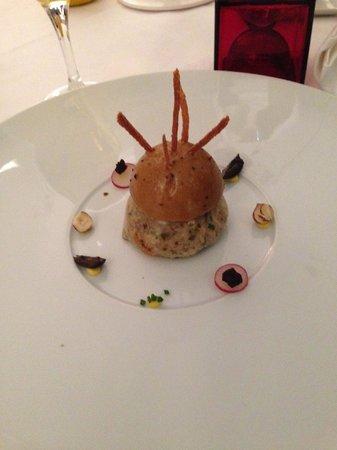 Le Vanteaux : Lapins avec foie gras et oignons confits