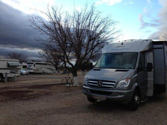Valley Vista RV Resort: A Foggy Morning at Valley Vista