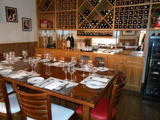 Bistrot De Paris : sala  reservada para ocasiões familiares ou executivas
