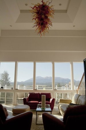 Pikes Peak Paradise Bed and Breakfast : Main Gathering Area and Amazing View