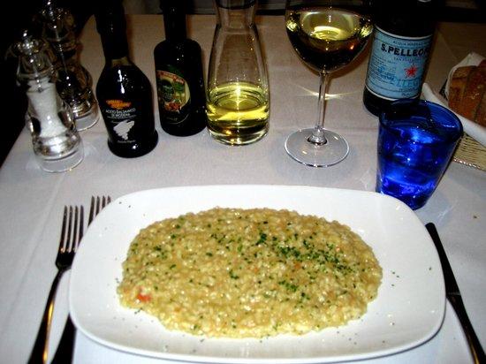 Trattoria Muramare: Risotto with Small Shrimp