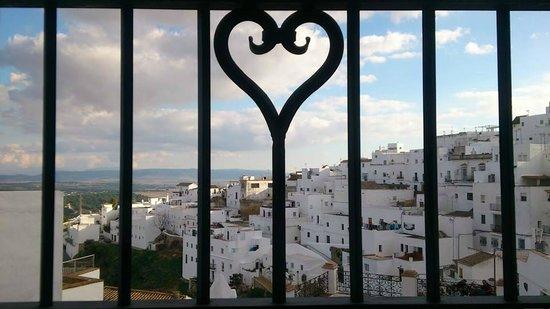 Hotel La Casa del Califa Hotel: Vistas desde la ventana de la habitación Suite de la Torre