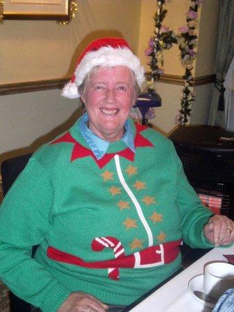 Hotel Commodore: Barbara in festive mode!