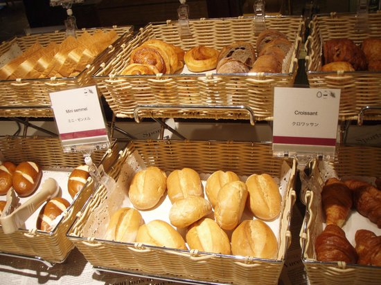 Crowne Plaza ANA Nagasaki Gloverhill: パンの種類も豊富で美味しい
