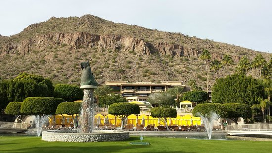 The Phoenician, Scottsdale: View from Casita area