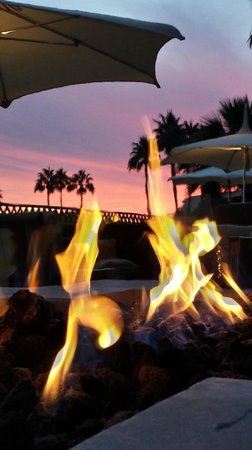 The Phoenician, Scottsdale : Sunset from Thirsty Camel Lounge
