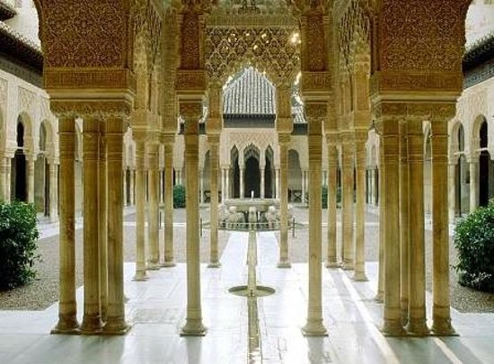 Polaroid Siesta Hostel : alhambra