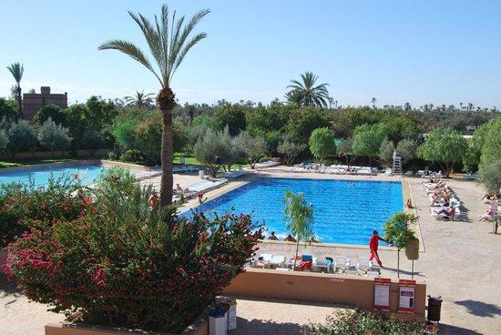 Une des trois piscines picture of club marmara madina for Club piscine des laurentides