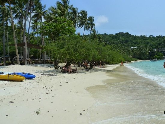 Haadtien Beach Resort: пляж