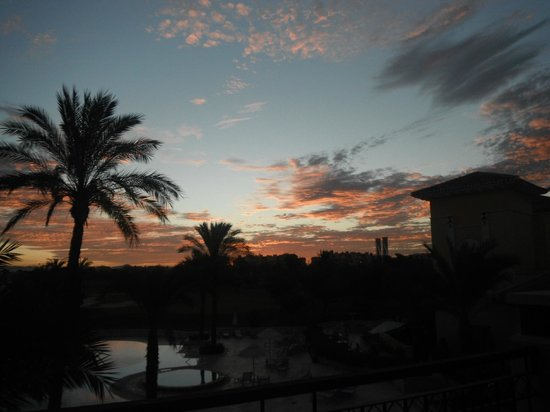 InterContinental Mar Menor Golf Resort & Spa: From balcony at sunset