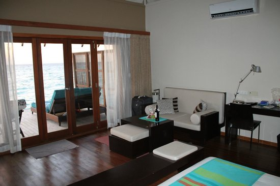 Veligandu Island Resort & Spa: Chambre (bis)