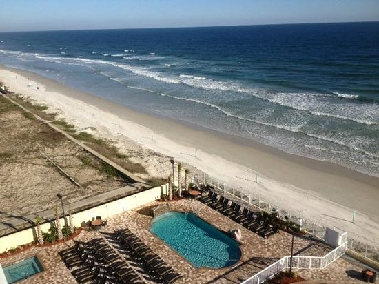 Hampton Inn Daytona Beach/Beachfront: Oeanfront View from 8th Floor