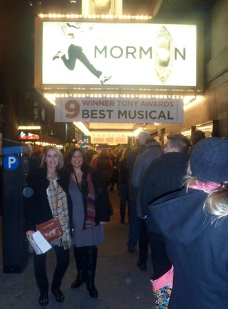 The Book of Mormon: After waiting 5 months, we are finally at the show!
