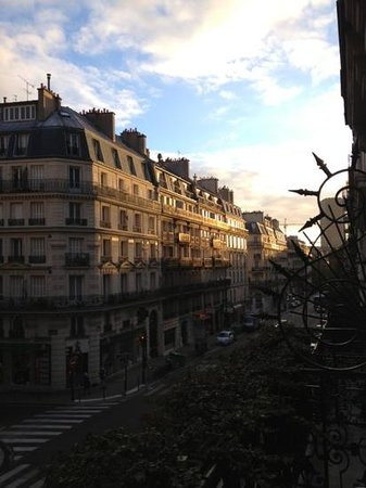 Hotel Atmospheres: Watching beautiful Paris come to life from our balcony