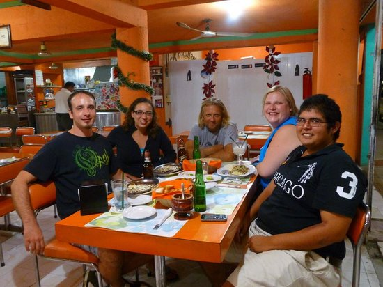 El Moro: Another amazing deicious dinner with friends