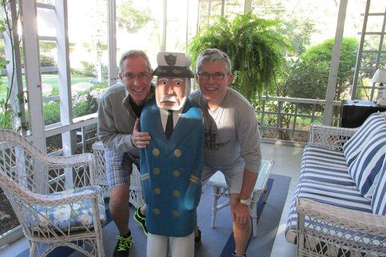 Captain David Kelley House: Our gracious hosts