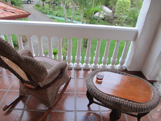 Hotel Rio Perlas Spa, Resort & Casino: netter Balkon